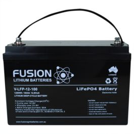 Fusion Lithium Deep Cycle Battery 100AH