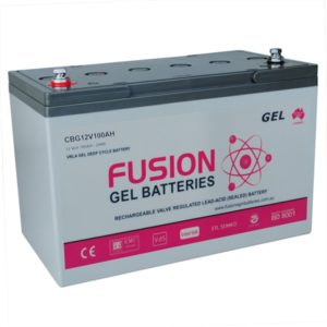 Fusion Gel Deep Cycle Battery CBG12V100AH