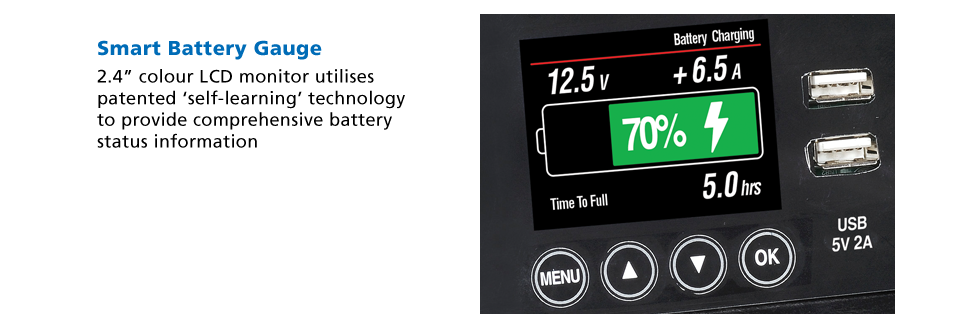 projecta power hub smart battery gauge