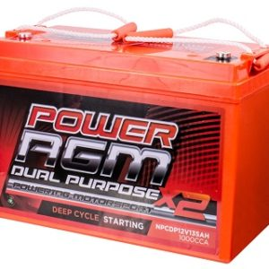 Power AGM NPCDP12V 135AH