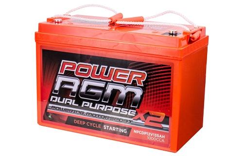 Power AGM NPCDP12V 135AH