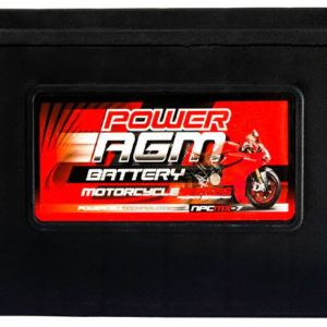 Power AGM NPC MX-7 Motorcycle Battery