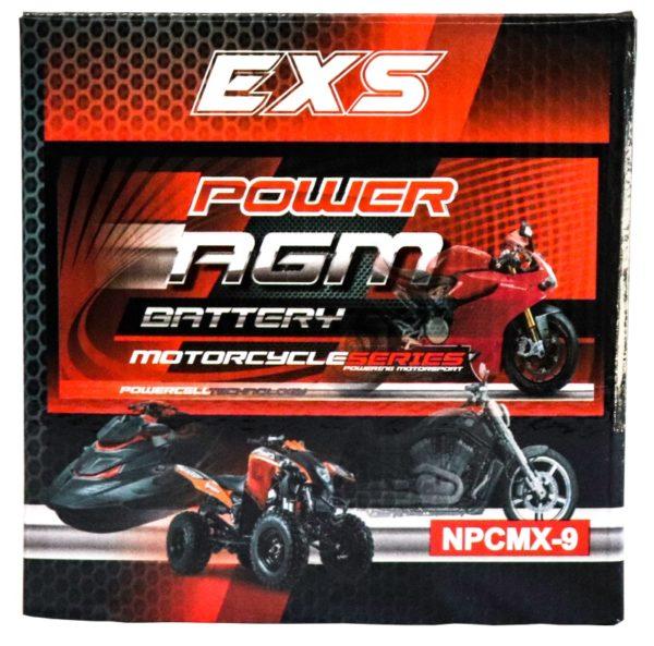 Power AGM NPC MX-9 Motorcycle Battery