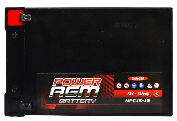 Power AGM NPC15-12 AGM Battery