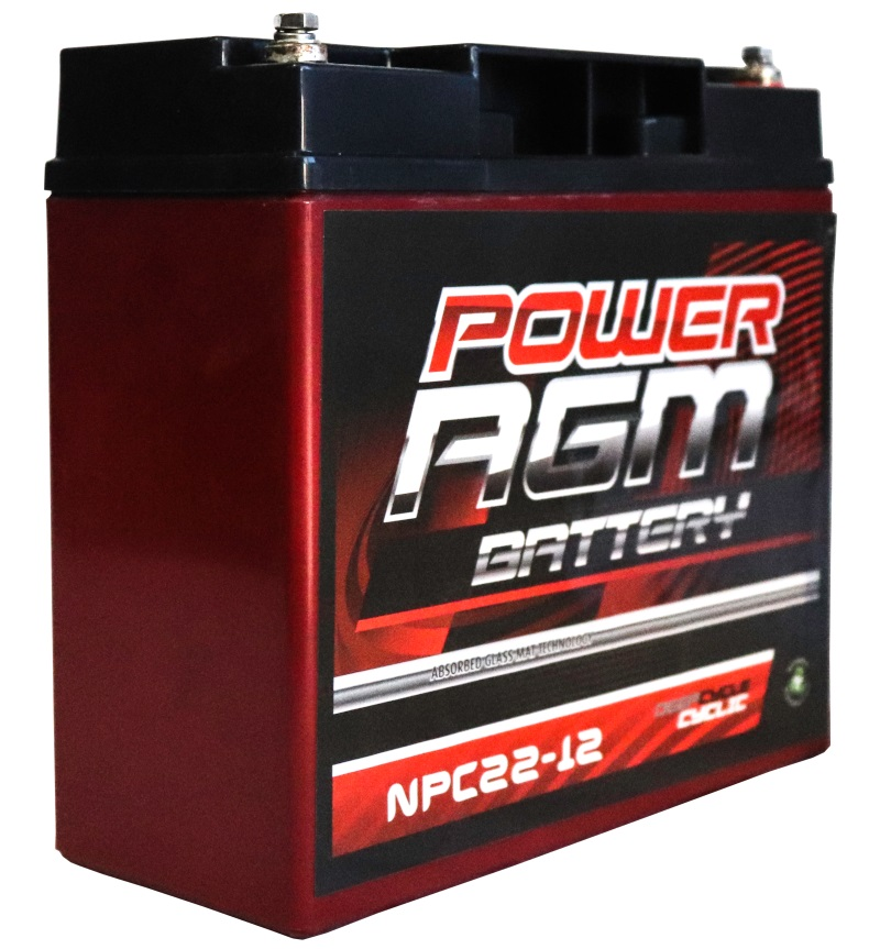 Power Agm Npc22 12 Battery Free Shipping Australia Metro