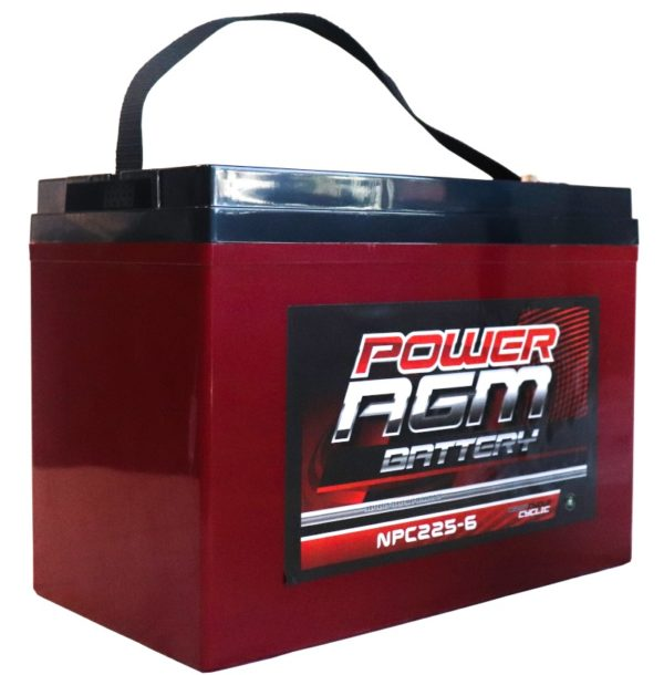 Power AGM NPC225-6 AGM Battery