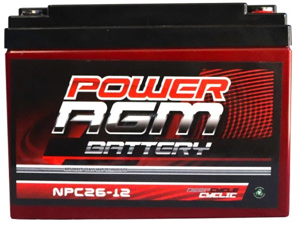 Power AGM NPC26-12 AGM Battery