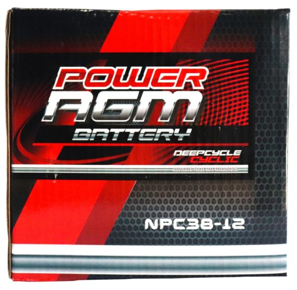 Power AGM NPC38-12 AGM Battery