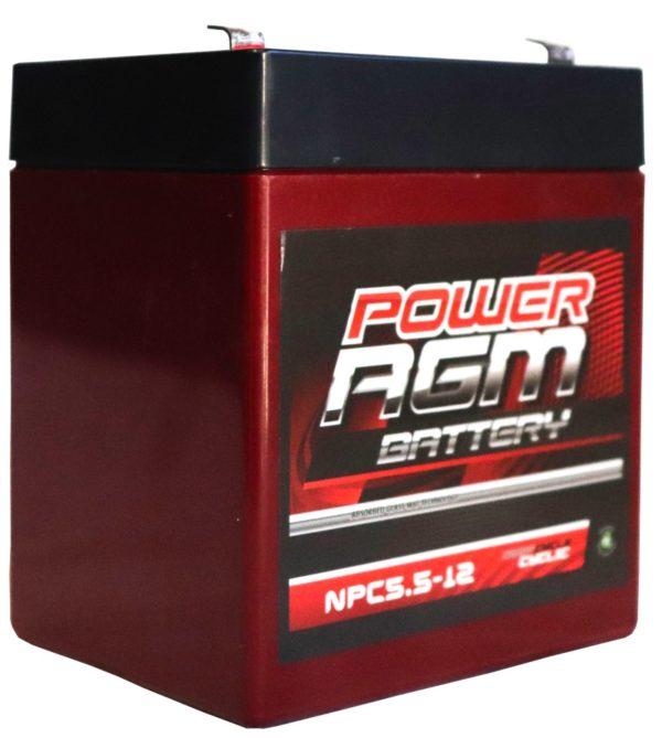 Power AGM NPC 5.5-12 Automotive Battery