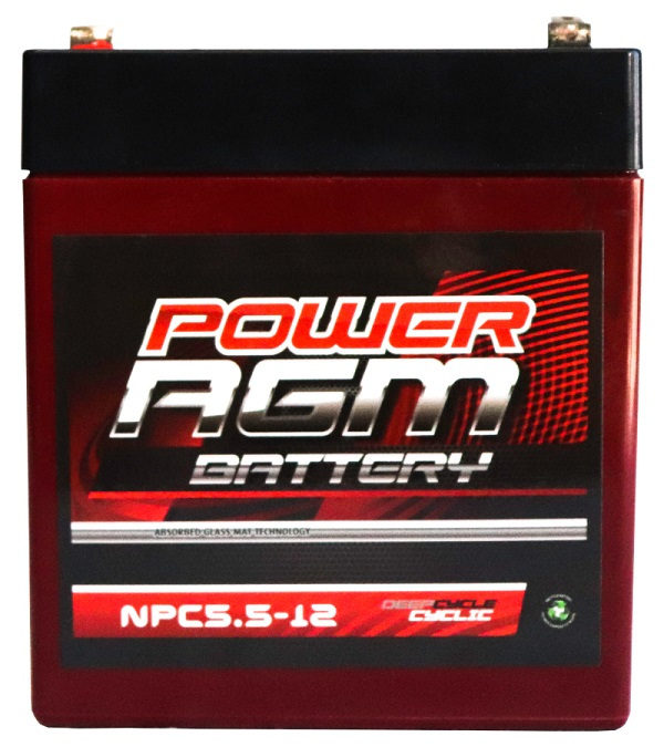 Power AGM NPC5.5-12 Automotive Battery