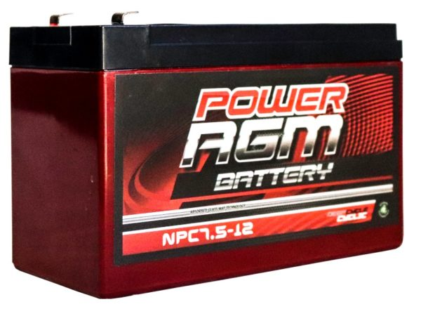 Power AGM NPC7.5-12 AGM Battery