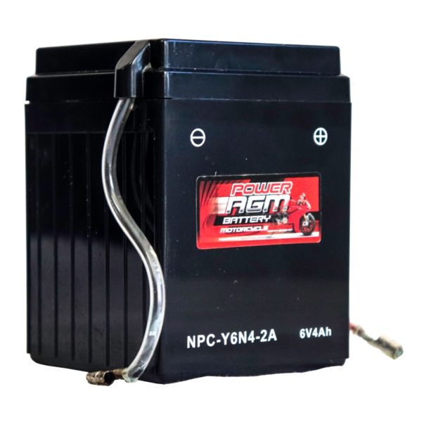 Power AGM NPC Y6N4-2A Motorcycle Battery