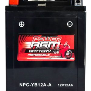 Power AGM NPC-YB12A-A Motorcycle Battery