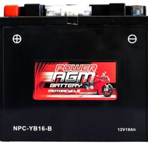 Power AGM NPC-YB16-B Motorcycle Battery