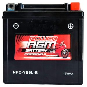 Power AGM NPC-YB9L-B Motorcycle Battery