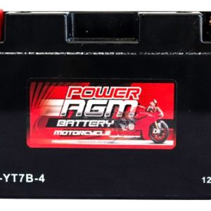 Power AGM NPC-YT7B-4 Motorcycle Battery