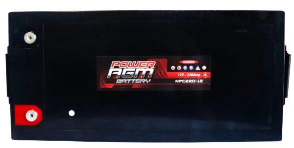 Power AGM NPC220-12 AGM Battery