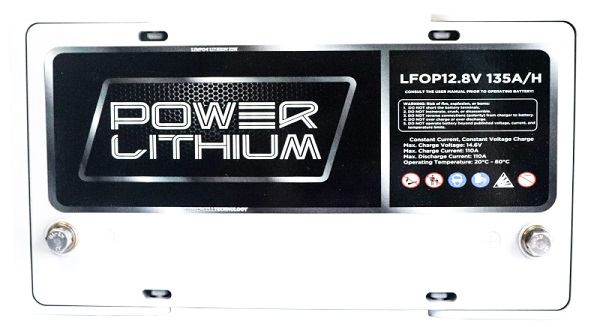 Power Lithium LFOP12.8V 135AH Battery