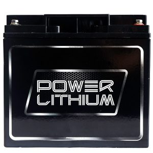 Power Lithium LFOP12.8V 20AH Lithium deep cycle Battery front