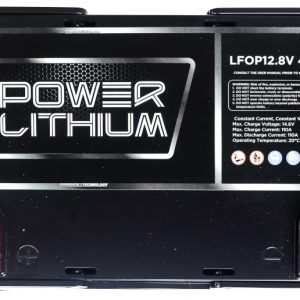 Power Lithium LFOP12.8V 40AH Lithium deep cycle Battery top