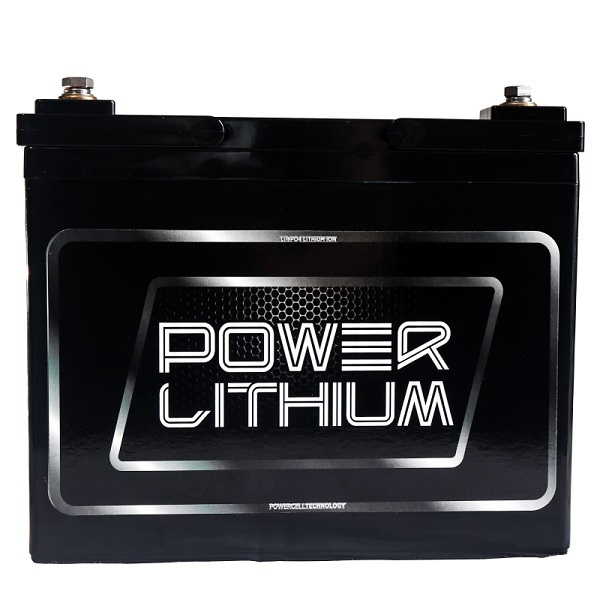 Power Lithium LFOP12.8V 40AH Lithium deep cycle Battery front