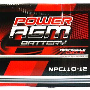Power AGM NPC110-12 AGM Battery retail