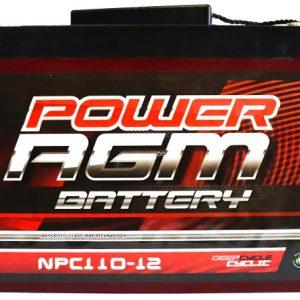 Power AGM NPC110-12 AGM Battery front