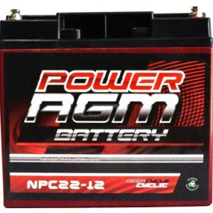 Power AGM NPC22-12 AGM Battery front