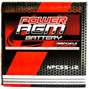 Power AGM NPC55-12 AGM Battery retail