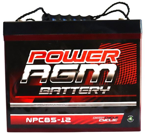 Power AGM NPC85-12 AGM Battery front