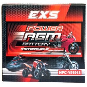 Power AGM NPC-Y51913 Motorcycle Battery retail