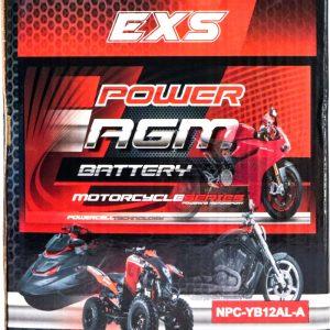 Power AGM NPC-YB12AL-A Motorcycle Battery retail