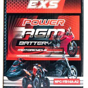 Power AGM NPC-YB14A-A2 Motorcycle Battery retail