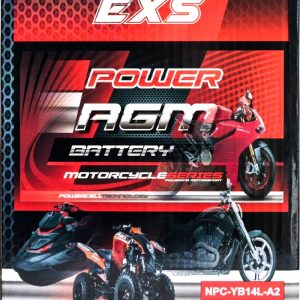 Power AGM NPC-YB14L-A2 Motorcycle Battery retail
