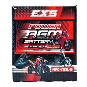 Power AGM NPC-YB3L-B Motorcycle Battery retail