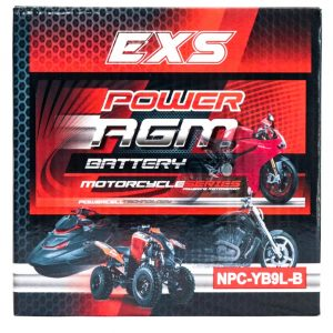Power AGM NPC-YB9L-B Motorcycle Battery retail