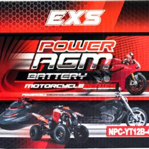 Power AGM NPC-YT12B-4 Motorcycle Battery retail