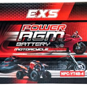 Power AGM NPC-YT4B-4 Motorcycle Battery retail