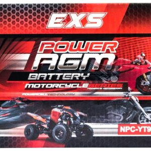 Power AGM NPC-YT9B-4 Motorcycle Battery retail