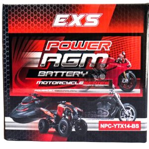 Power AGM NPC-YTX14-BS Motorcycle Battery retail