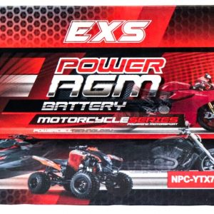 Power AGM NPC-YTX7A-BS Motorcycle Battery retail