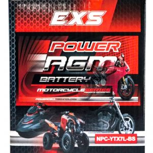 Power AGM NPC-YTX7L-BS Motorcycle Battery retail