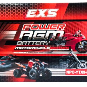 Power AGM NPC-YTX9-BS Motorcycle Battery retail