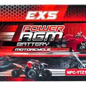 Power AGM NPC-YTZ10S Motorcycle Battery retail