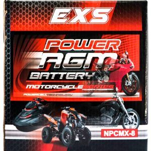 Power AGM NPC MX-8 Battery