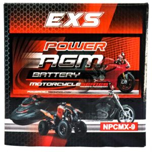 Power AGM NPC MX-9 Motorcycle Battery