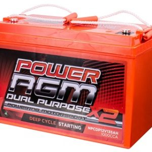 NPCDP12V135AH agm deep cycle and dual purpose battery