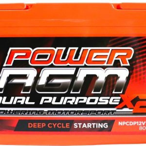 Power AGM NPCDP12V110AH Dual Purpose Battery