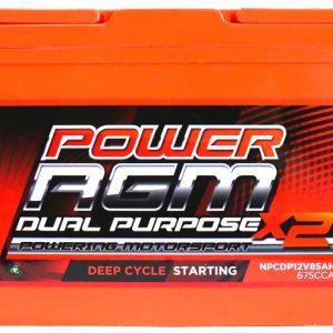Power AGM NPCDP12V85AH Dual Purpose Battery