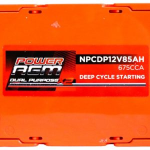 Power AGM NPCDP12V85AH Dual Purpose Battery